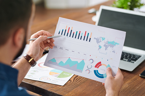 Diagramm Analysieren Stockfoto und mehr Bilder von Analysieren