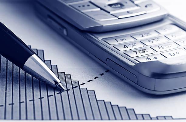 Analysieren Finanzen Diagramm – Foto