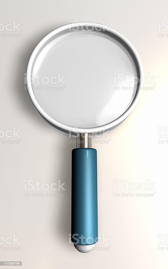 Analyzing lens (5000x8000 px!) royalty-free stock photo