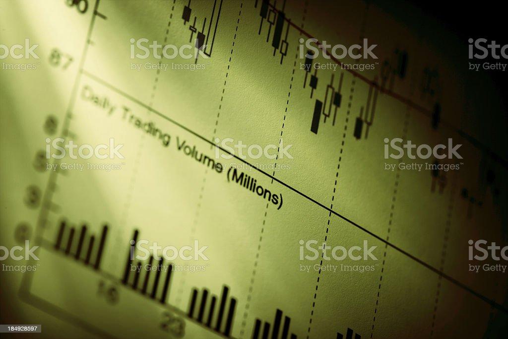 Analyzing royalty-free stock photo