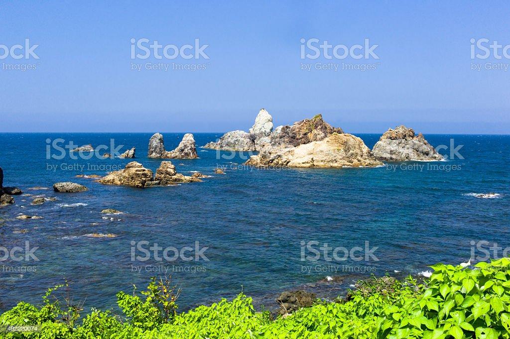Anami coast - Japan stock photo