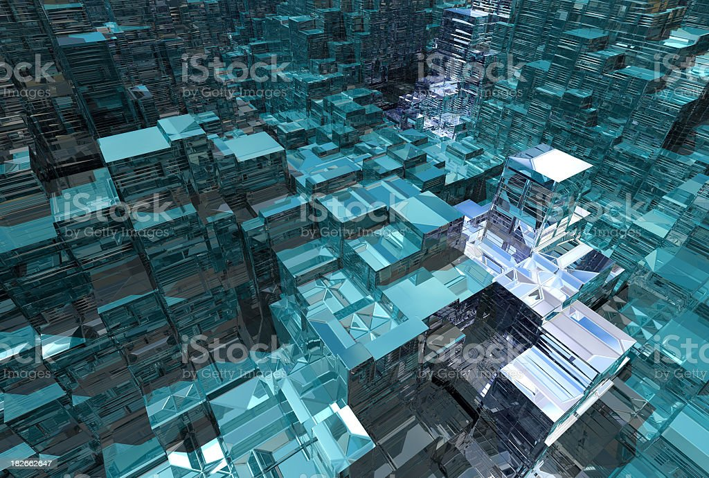 Anarchitectural 201 royalty-free stock photo