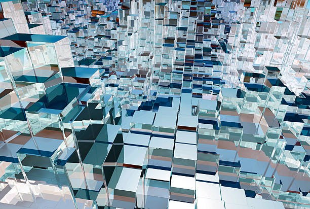 anarchitectural 205 - crystal glassware stock photos and pictures