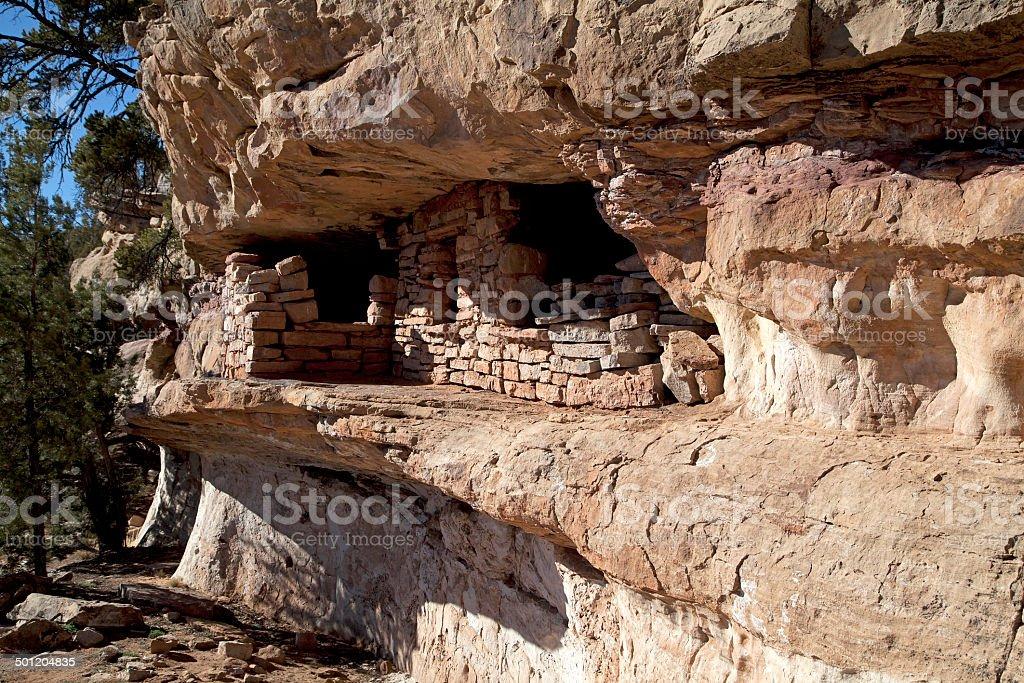 Anasazi dwelling in southern Utah stock photo