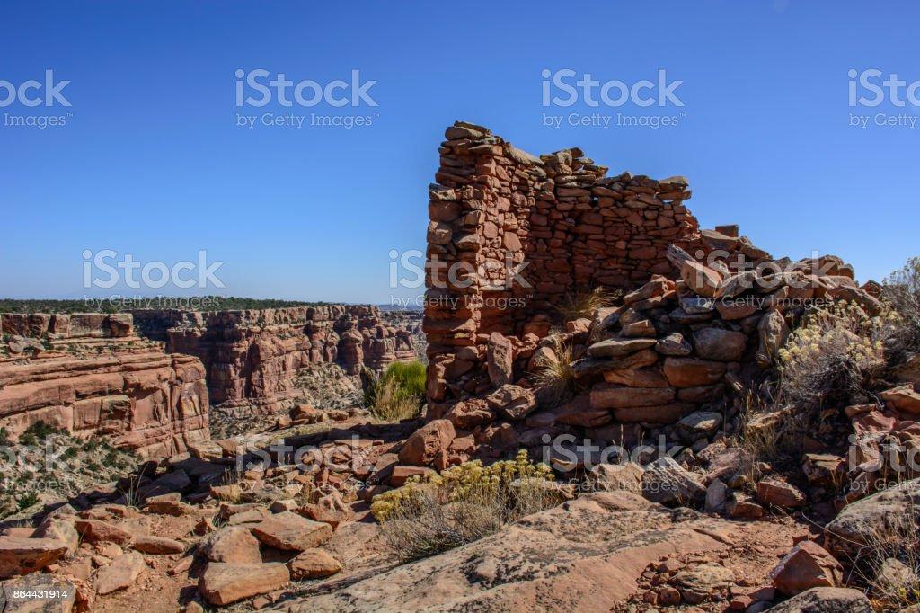 Anasazi Ruin - Utah, USA stock photo