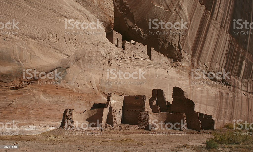 Anasazi White House Ruin royalty free stockfoto