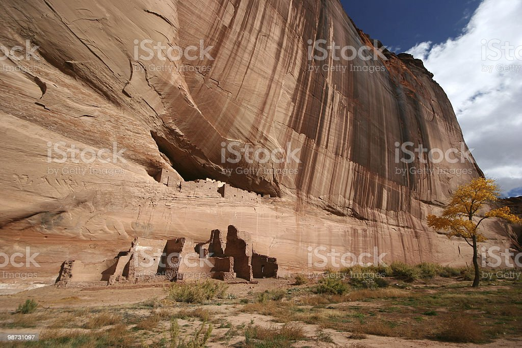 Anasazi White House Ruins royalty-free stock photo