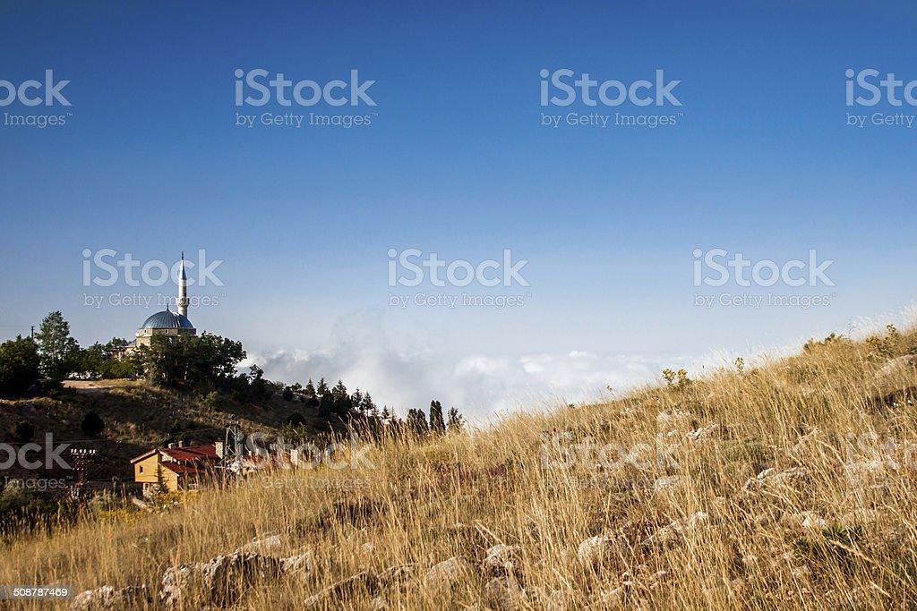 Anatolian village royalty-free stock photo