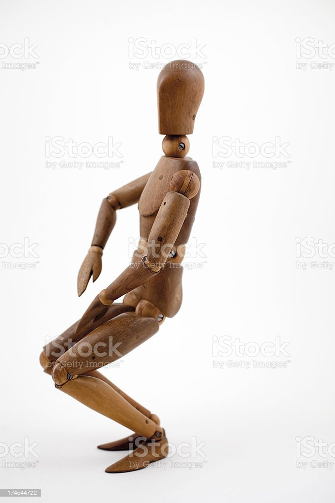 Anatomical model for artists. royalty-free stock photo
