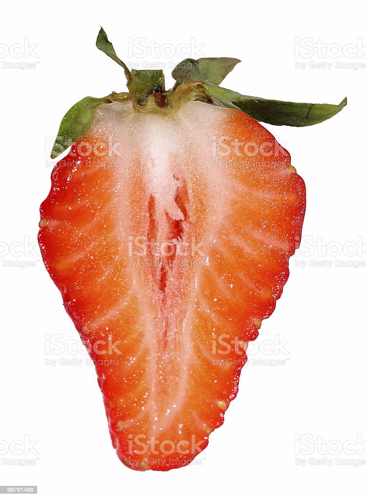 Anatomy Of A Strawberry Stock Photo & More Pictures of Accessibility ...