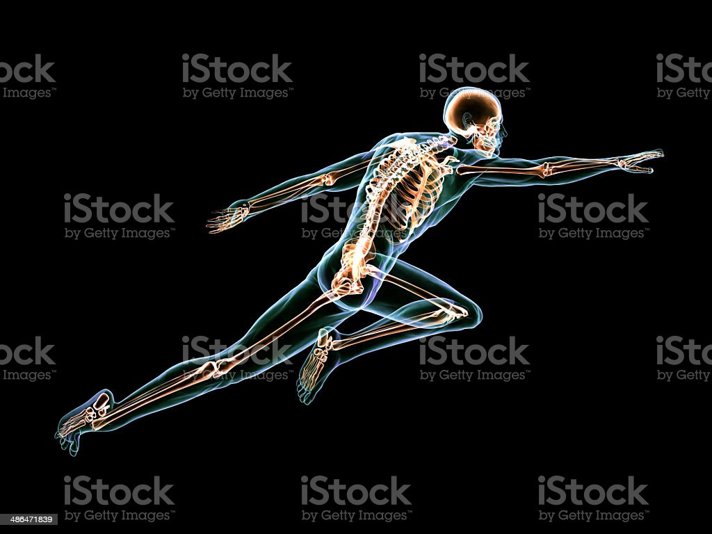 Anatomy of Superman stock photo