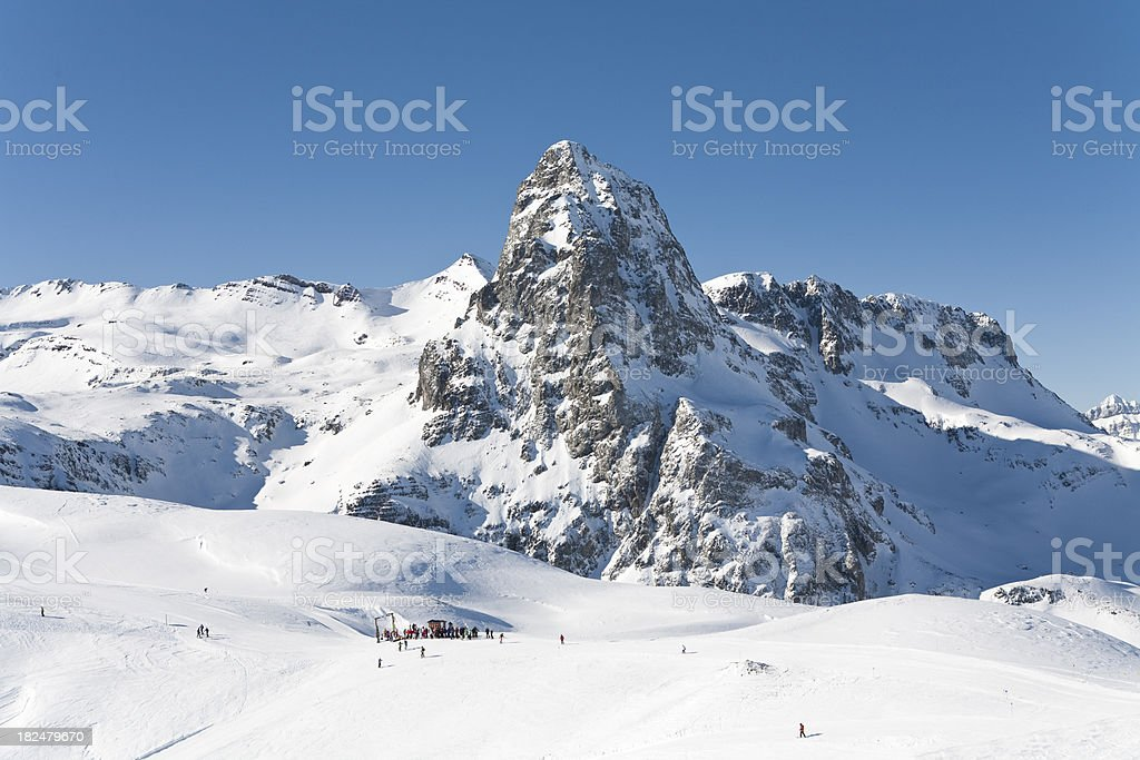Anayet Peak stock photo