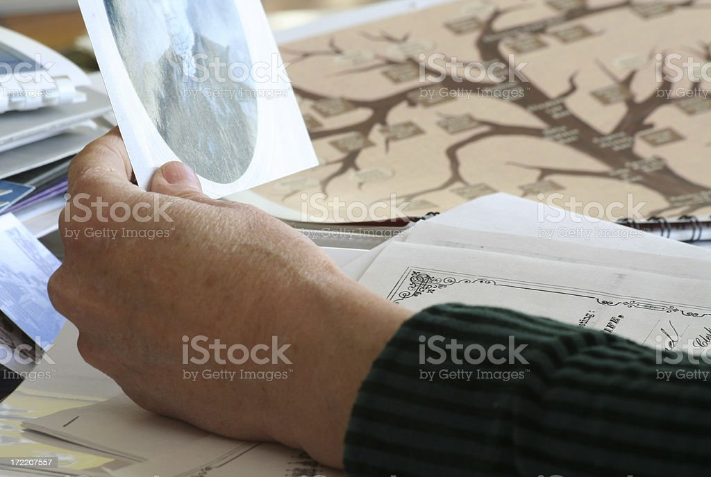Ancestors stock photo