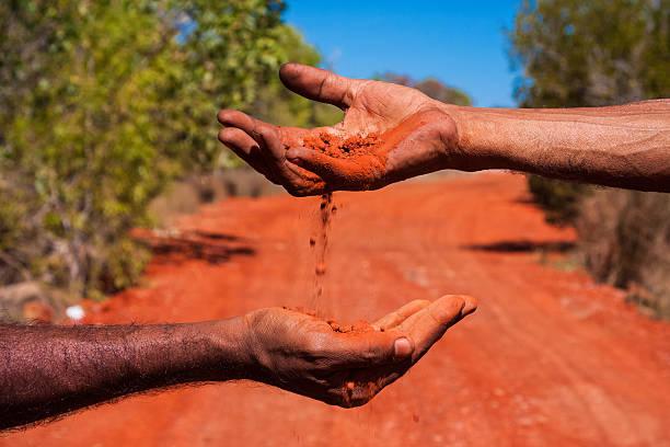 Ancestral Wisdom, Australia stock photo