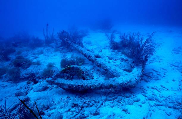 Anker von shipwreck – Foto