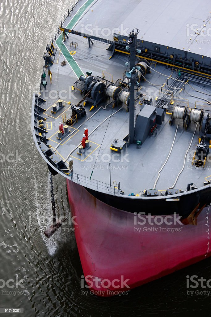 Anchor on standby stock photo