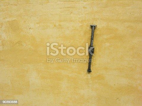 istock Anchor on Wall 90390688