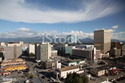 istock Anchorage Skyline 157643675