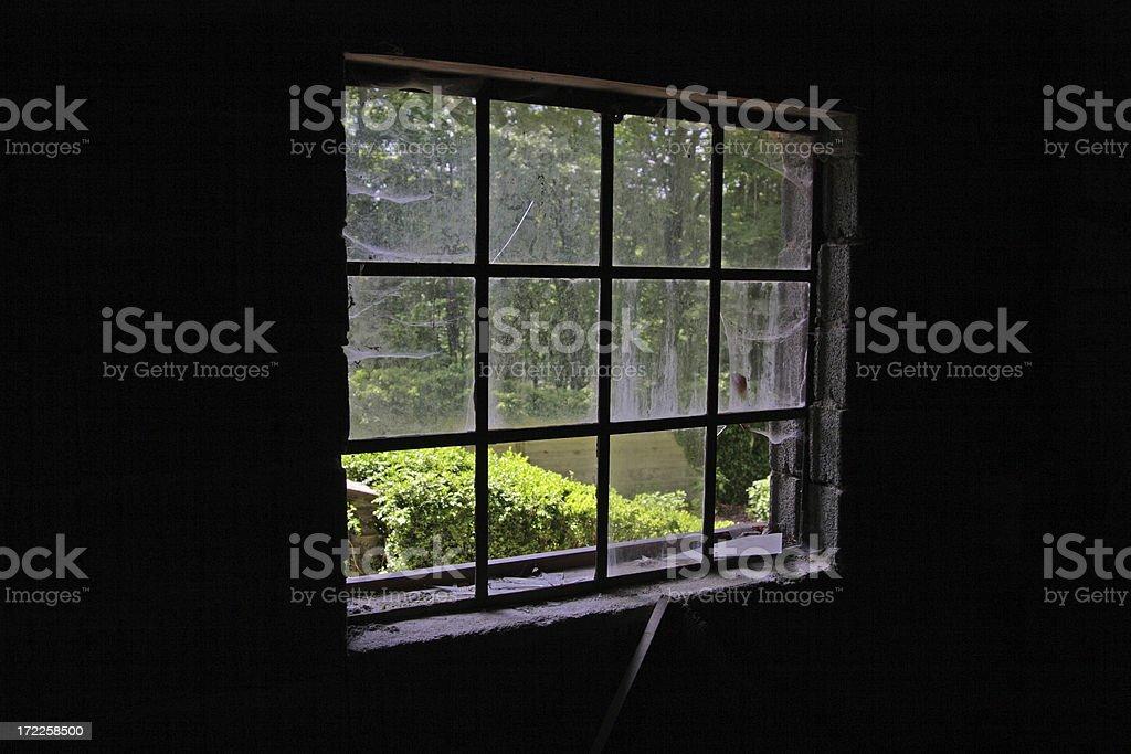 Anchoritism Window royalty-free stock photo