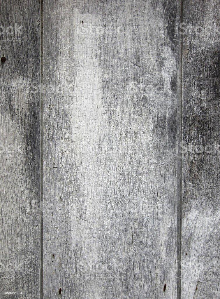ancien bois peint en gris patiné stock photo