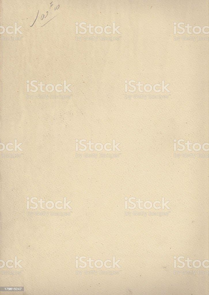 Ancien papier aquarelle 19ème stock photo
