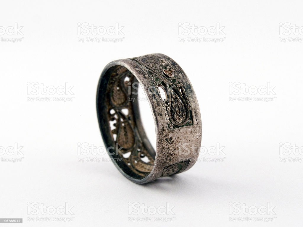 Ancient a ring royalty-free stock photo