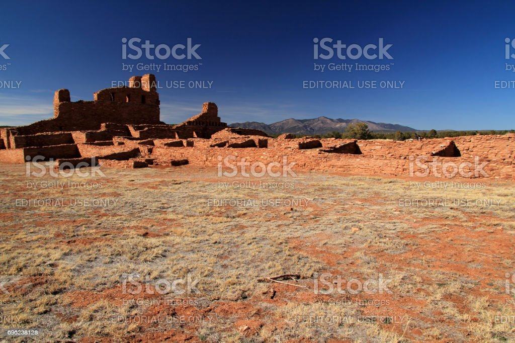Ancient Abo Ruins stock photo
