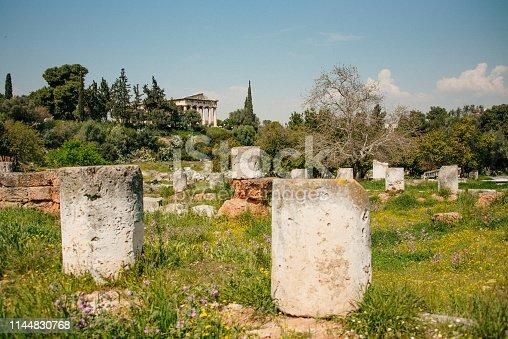 istock Ancient Agora, Athens, Greece 1144830768