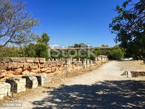 istock Ancient Agora of Athens 1180987498