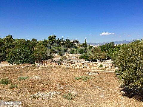 istock Ancient Agora of Athens 1180987613