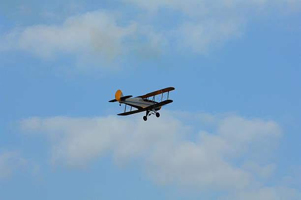 Ancient Aircraft stock photo