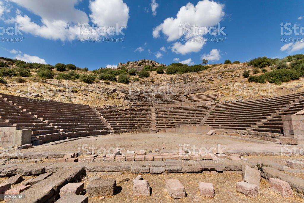 Amphitheater von Assos, Türkei. – Foto