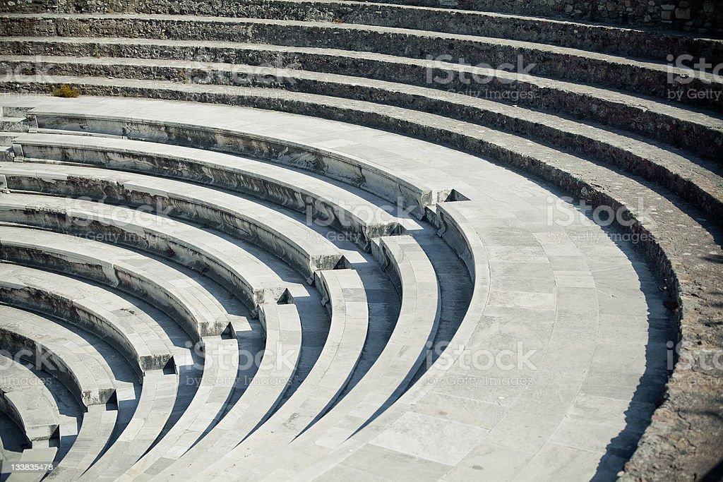 Ancient Amphitheatre royalty-free stock photo