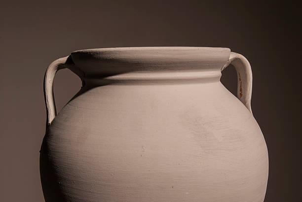 ancient amphora stock photo
