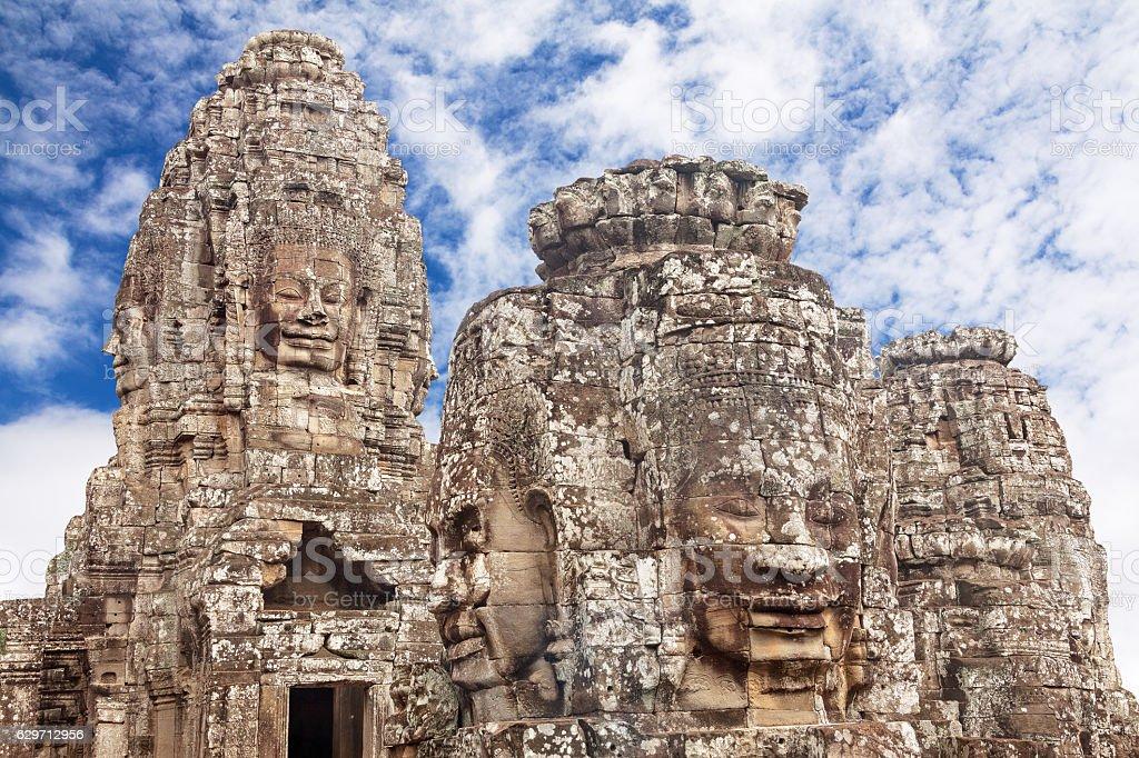 Ancient Angkor Wat Cambodia stock photo