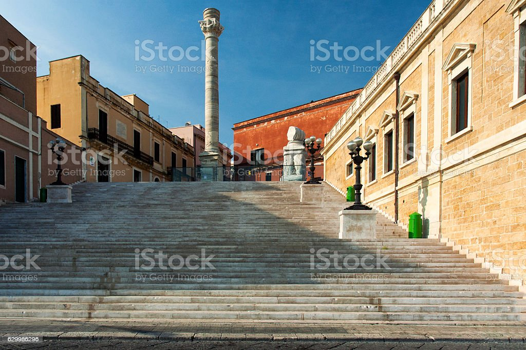 Via Appia antica stock photo