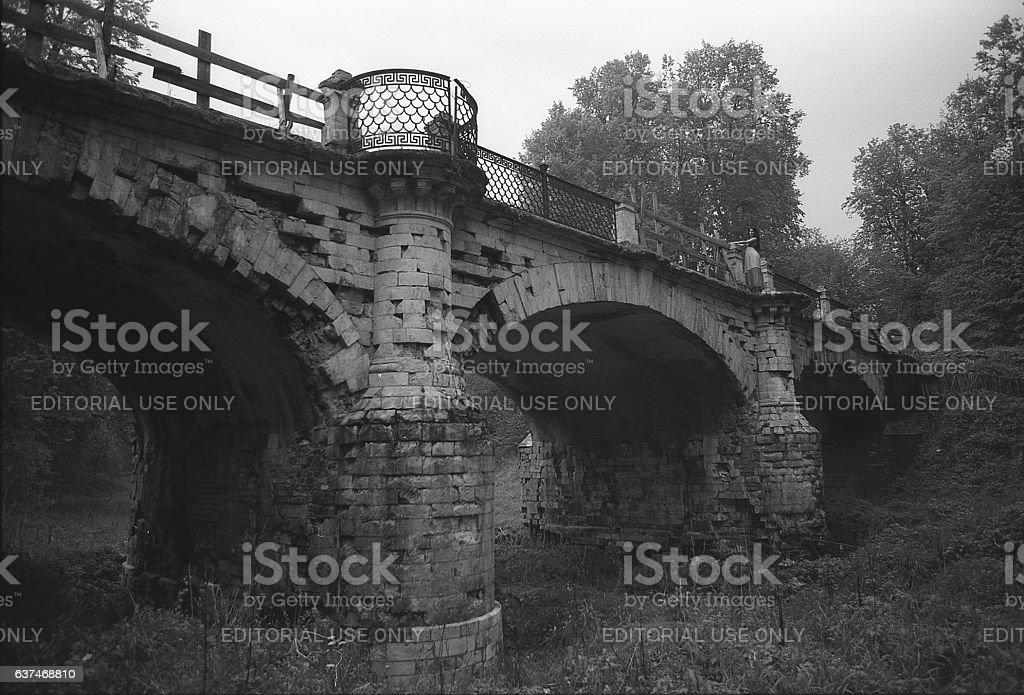 Ancient architecture. stock photo
