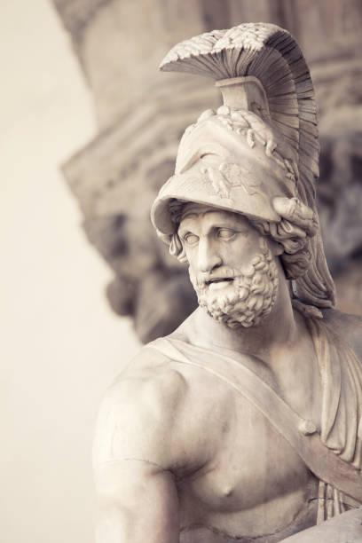 Ancient art stock photo