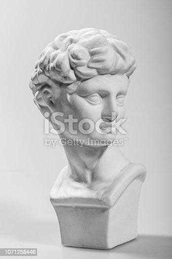 Man plaster sculpture,