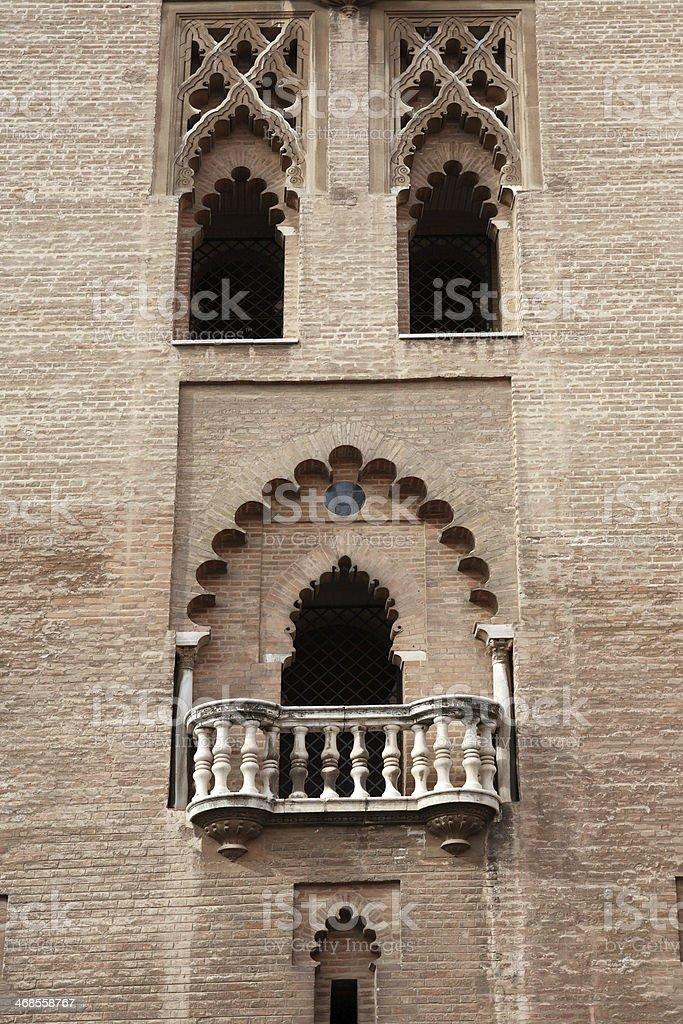 Ancient Balcony royalty-free stock photo