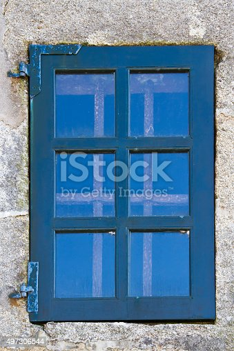 Ancient Barred Window Stock Photo & More Pictures of 2015