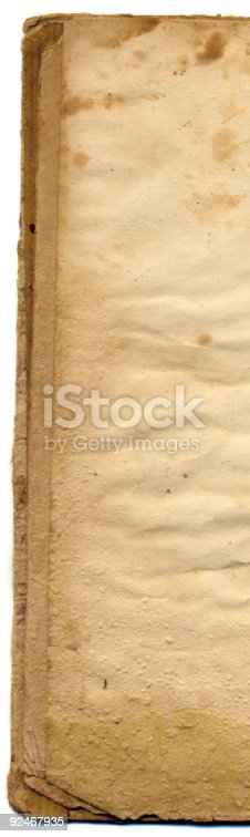 istock Ancient Book edges XXL 92467935