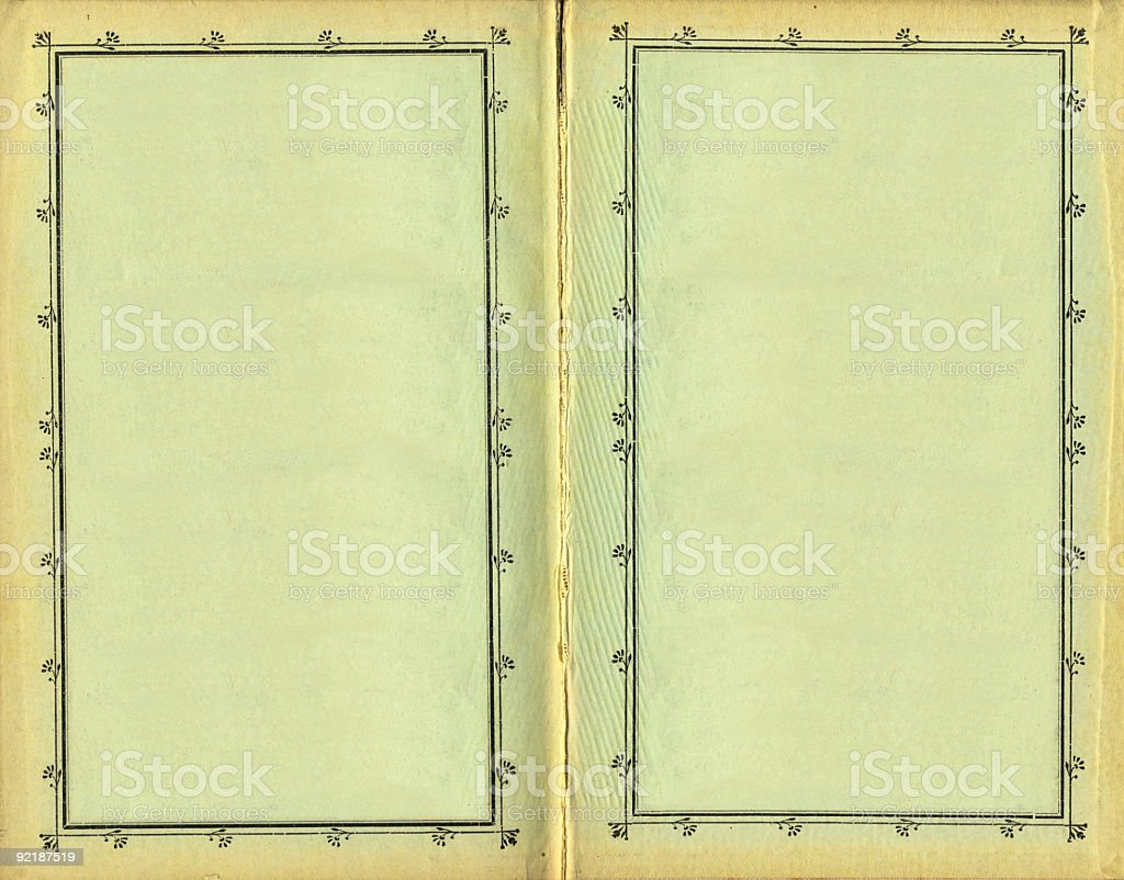 Ancient Book XXL royalty-free stock photo