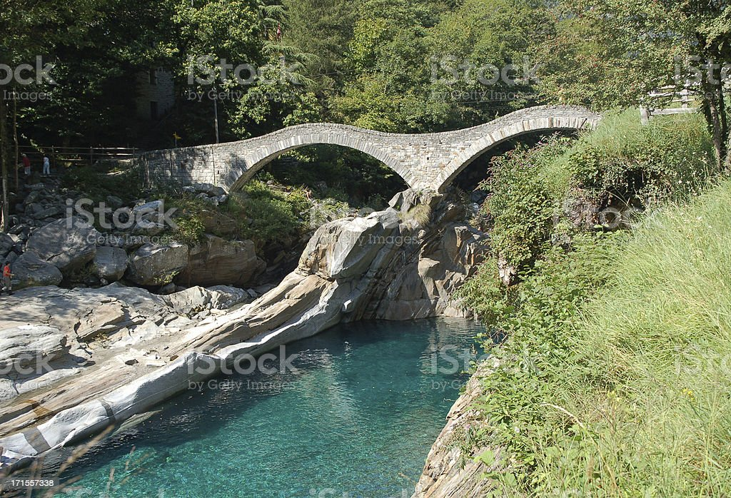 Ancient Bridge stock photo
