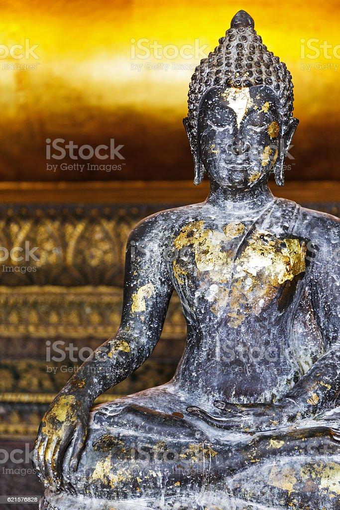 Ancienne Bouddha en Thaïlande photo libre de droits