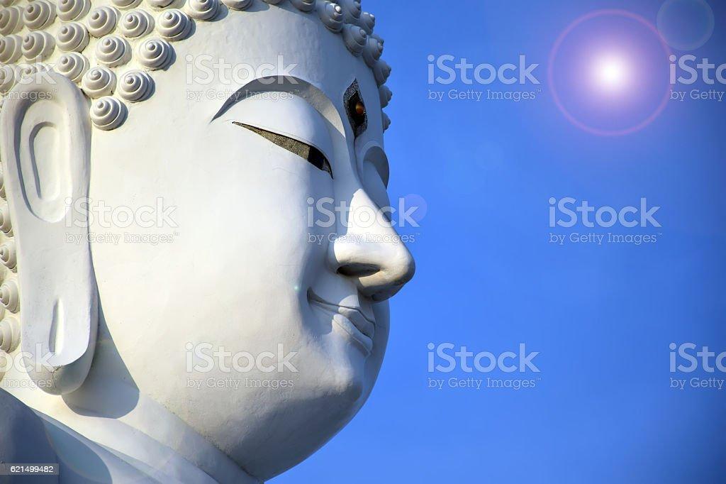 Alte buddha-statue  Lizenzfreies stock-foto