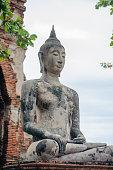 Ancient Buddha, Wat mahathat Ayuthaya