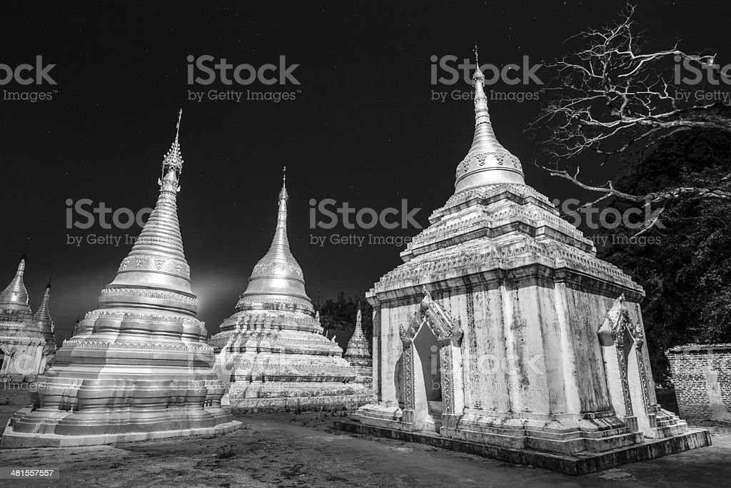 Alte buddhistische Tempel, Pindaya, Birma, Myanmar. Lizenzfreies stock-foto