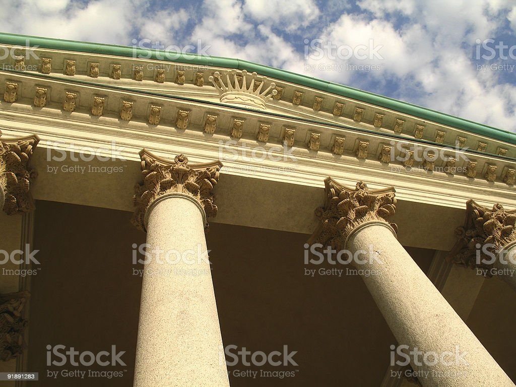 ancient building royalty-free stock photo