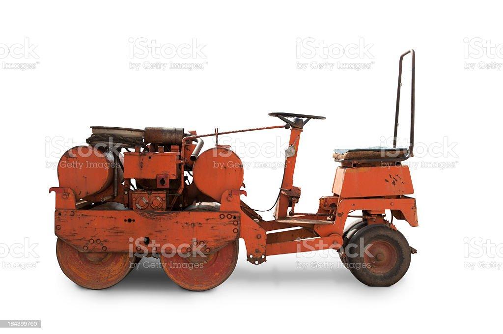 Ancient bulldozer royalty-free stock photo